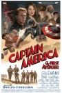 'CAPTAIN AMERICA' POSTER FOR CAST & CREW IS NAZI-PUNCHIN' GOODNESS
