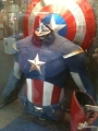 CAPTAIN AMERICA'S 'AVENGERS' COSTUME REVEALED
